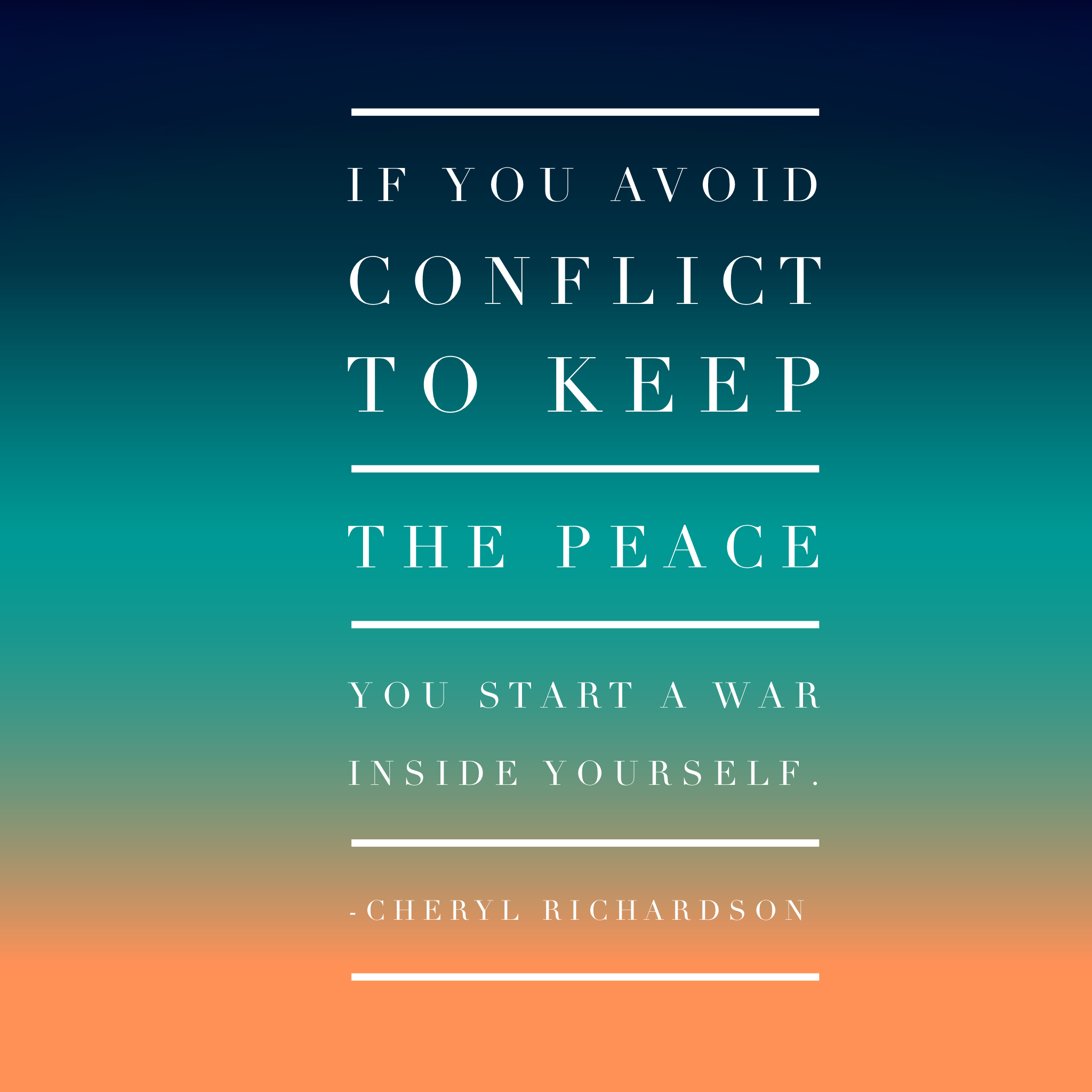 Conflict Resolution First Tip